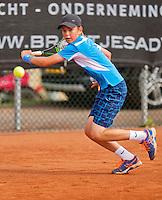 Netherlands, Rotterdam August 08, 2015, Tennis,  National Junior Championships, NJK, TV Victoria, Daan van Dijk<br /> Photo: Tennisimages/Henk Koster