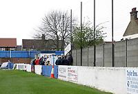 Bradbourne Road end terrace - Grays Athletic Football Club - 03/04/04 - MANDATORY CREDIT: Gavin Ellis/TGSPHOTO
