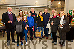 Pictured at SkelligSix18 Distillery on Saturday for an indoor Aonach Bia with local food producers from the Skellig Coast Region as part of a National taste the Island Campaign were l-r; the Quirkes John, Sean, Cathy, Ciara, Amy, Karen, John with Sandrqa O'Farrell, Jerry Clifford, James O'Shea, Maggie O'Shea & Cllr. Norma Moriarty.