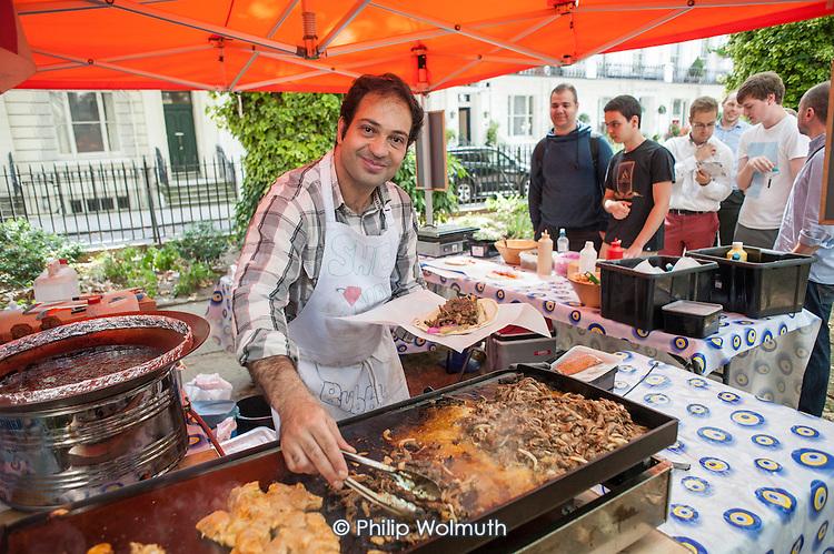 Sounds & BItes Festival 2014, Norfolk Square, Paddington.