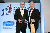 Rainbow International Restoration held their annual reunion at the Belfry Hotel Nottingham. Pictured is Head Office Employee of the Year James Parsons