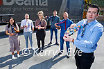 The staff of Ard Ri Marble supporting the  'TieDayFriday' for Kerry Mental Health fundraiser. Front right: Kieran Liston. Back l to r: Rebecca O'Connor, Shane O'Connor, Hillary Costello, George Carnegie and Richard Sharpe.
