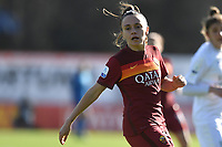 Annamaria Serturini of AS Roma reacts during the Women Italy cup round of 8 second leg match between AS Roma and Florentia S.G. at stadio delle tre fontane, Roma, February 14, 2021. Photo Andrea Staccioli / Insidefoto