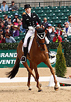 April 24, 2014: RF Demeter and Marilyn Little during the first day of Dressage at the Rolex Three Day Event in Lexington, KY at the Kentucky Horse Park.  Candice Chavez/ESW/CSM