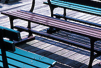 Benches on boardwalk<br />