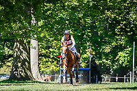 AUS-Sam Griffiths rides Gurtera Cher during the Cross Country for the CCIO-S 4* Section D. 2021 GBR-Saracen Horse Feeds Houghton International Horse Trials. Hougton Hall. Norfolk. England. Sunday 30 May 2021. Copyright Photo: Libby Law Photography