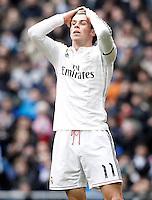 Real Madrid's Garet Bale during La Liga match.January 31,2015. (ALTERPHOTOS/Acero) /NortePhoto<br /> /NortePhoto.com