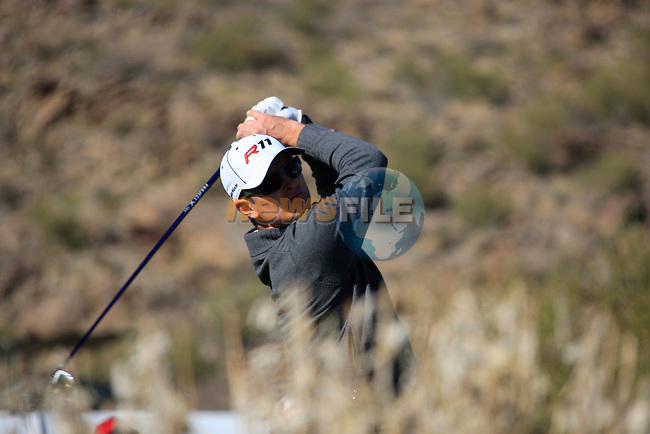 Justin Rose (ENG) in action on the 17th hole during Day 2 of the Accenture Match Play Championship from The Ritz-Carlton Golf Club, Dove Mountain, Thursday 24th February 2011. (Photo Eoin Clarke/golffile.ie)