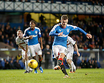 Andy Halliday scores from the penalty spot to put Rangers 4-0 up