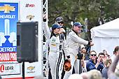 IMSA WeatherTech SportsCar Championship<br /> Chevrolet Sports Car Classic<br /> Detroit Belle Isle Grand Prix, Detroit, MI USA<br /> Saturday 3 June 2017<br /> 93, Acura, Acura NSX, GTD, Andy Lally, Katherine Legge<br /> World Copyright: Richard Dole<br /> LAT Images<br /> ref: Digital Image RD_DTW_17_0392