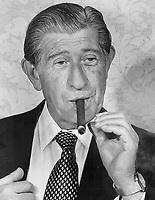 Zino Davidoff, the Emperor of the Havana Cigar in the seventies<br /> <br /> PHOTO :  Toronto Star Archives - AQP