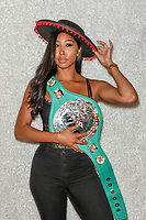Las Vegas NV - August 17:  :Apryl Jones, 2018 Boxing Hall of Fame meet and greet at Augustus Ballroom at Caesars Palace in Las Vegas, Nevada on August 17, 2018. Credit:DeeCee Carter/MediaPunch