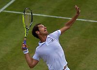 England, London, Juli 06, 2015, Tennis, Wimbledon, Richard Gasquet (FRA)<br /> Photo: Tennisimages/Henk Koster