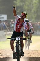 UCI 2021 Mountain Bike Cross Country World  Championships   in Commezzadura on August 28, 2021. Mens Elite Olympic, Nino Schurter (SUI),