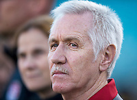 Tom Sermanni.  The USWNT defeated Scotland, 4-1, during a friendly at EverBank Field in Jacksonville, Florida.