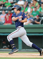 Infielder Joe Leonard (39) of the Rome Braves in a game against the Greenville Drive Aug. 10, 2010, at Fluor Field at the West End in Greenville, S.C. Gosselin was the Atlanta Braves' 3rd round pick in the 2010 Draft. Photo by: Tom Priddy/Four Seam Images.