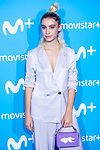 Greta Fernandez attends to blue carpet of presentation of new schedule of Movistar+ at Queen Sofia Museum in Madrid, Spain. September 12, 2018. (ALTERPHOTOS/Borja B.Hojas)