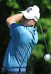 1 September 2008: Steve Flesch tees off at the Deutsche Bank Golf Championship in Norton, Massachusetts.