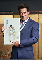 """BNPS.co.uk (01202 558833)<br /> Pic: Woolley&Wallis/BNPS<br /> <br /> Pictured: John Axford, chairman of Woolley & Wallis, said: """"Wang Qi is one of the most sought-after porcelain artists of the Republic period and is now the biggest name among collectors in that field. <br /> <br /> A retired British army officer has sold his set of rare Chinese artefacts for a staggering £500,000 - ten times their estimate.<br /> <br /> Colonel Timothy Van Rees acquired four porcelain plaques from a Cat Street dealer named Mr Wong in Hong Kong in 1968.<br /> <br /> He served in the Welsh Regiment in the Far East from 1966 to 1969, then between 1971 and 1973, and was also a magistrate.<br /> <br /> The plaques, which are decorated with images of mythical figures and poets, were produced by acclaimed Chinese porcelain painter Wang Li in 1931."""