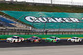July 10, 2020:   #20: Harrison Burton, Joe Gibbs Racing, Toyota Supra Dex Imaging, #20: Harrison Burton, Joe Gibbs Racing, Toyota Supra Dex Imaging, #21: Anthony Alfredo, Richard Childress Racing, Chevrolet Camaro Alsco Uniforms, #98: Chase Briscoe, Stewart-Haas Racing, Ford Mustang Ford Performance Racing School during the Alsco 300 at Kentucky Speedway in Sparta, KY. (HHP/Harold Hinson)