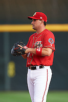 Harrisburg Senators first baseman Ryan Zimmerman (31), on a rehab assignment from the Washington Nationals, during a game against the New Hampshire Fisher Cats on July 21, 2015 at Metro Bank Park in Harrisburg, Pennsylvania.  New Hampshire defeated Harrisburg 7-1.  (Mike Janes/Four Seam Images)