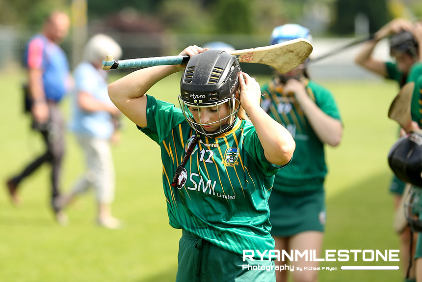 Meath's Amy Gaffney ahead of the Liberty Insurance All Ireland Senior Camogie Championship Round 1 between Tipperary and Meath at the Ragg, Co Tipperary. Photo By Michael P Ryan.