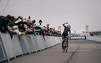 Maud Kaptheijns (NED/Crelan-Charles) wins the Women's Elite race<br /> <br /> UCI cyclocross World Cup Koksijde / Belgium 2017