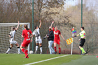 Illustrative photo of a female soccer game between Standard Femina de Liege and Sporting Charleroi on the 16th matchday of the 2020 - 2021 season of Belgian Scooore Womens Super League , saturday 13 th of February 2021  in Angleur , Belgium . PHOTO SPORTPIX.BE | SPP | SEVIL OKTEM