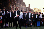 Morning after end of year summer ball. Cirencester Agricultural College. GLOUCESTERSHIRE 1990s.