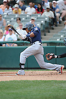 New Hampshire Fisher Cats outfielder Kenny Wilson (2) during game against the Trenton Thunder at ARM & HAMMER Park on June 22, 2014 in Trenton, NJ.  New Hampshire defeated Trenton 7-2.  (Tomasso DeRosa/Four Seam Images)