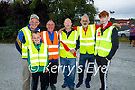Working hard behind the scenes at the Paudie Fitzmaurice Tractor Run in Castleisland on Sunday, l to r: David and Timmy Myers, Patrick Hartnett, Denny Greaney and Gerry and Niall Fagan