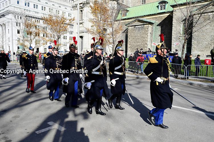 jour du souvenir 2018<br /> <br /> PHOTO : Agence Quebec Presse