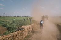 Timothy Dupont (BEL/Veranda's Willems-Crelan) moving through the dust<br /> <br /> 92nd Schaal Sels 2017 <br /> 1 Day Race: Merksem > Merksem (188km)