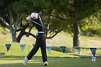 STANFORD, CA - APRIL 23: Stefanie Deng at Stanford Golf Course on April 23, 2021 in Stanford, California.