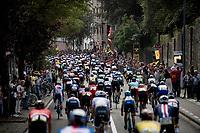 descending towards the base of the Wijnpersstraat<br /> <br /> Elite Men World Championships - Road Race<br /> from Antwerp to Leuven (268.3km)<br /> <br /> UCI Road World Championships - Flanders Belgium 2021<br /> <br /> ©kramon