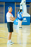 Coach Sergio Scariolo during the second season of training of Spanish National Team of Basketball 2019 . July 27, 2019. (ALTERPHOTOS/Francis González)