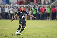 LOS ANGELES, CA - AUGUST 25: Nani #17 of the MLS All Stars during a game between Liga MX All Stars and MLS All Stars at Banc of California Stadium on August 25, 2021 in Los Angeles, California.