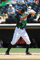 Charlotte Knights Jordan Danks during a game vs. the Charlotte Knights at Knights Stadium in Fort Mill, South Carolina June 13, 2010.  Syracuse defeated Charlotte by the score of 3-2.  Photo By Tony Farlow/Four Seam Images