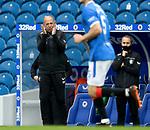 25.10.2020: Gary McAllister applauds as Jermain Defoe scores goal no 2 for Rangers