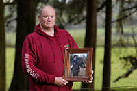 COPY BY TOM BEDFORD<br /> Pictured: Byron John, Bradley's father.<br /> Re: A verdict for a Coroner's inquest into the death of 14 year old Bradley John, who was found dead by his sister at his school, will be read out at the Coroner's Court in Llanelli, Wales, UK.<br /> Talented young horse rider Bradley John, 14, was found hanged in the school toilets by his younger sister Danielle (DANIELLE JOHN CANNOT BE IDENTIFIED AND/OR NAMED) at the 500-pupils St John Lloyd Roman Catholic school in Llanelli, South Wales in September 2018.<br /> Bradley's family claim he had been bullied for two years after being diagnosed with Attention Deficit Hyperactivity Disorder.<br /> He went missing during lessons and was found in the toilet cubicle by his sister Danielle (DANIELLE JOHN CANNOT BE IDENTIFIED AND/OR NAMED), who was 12 at the time.
