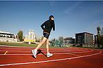 Milano, Campo atletica Giuriati, allenamento maratoneti; Milan, Athletic field Giurati, maraton runners workout