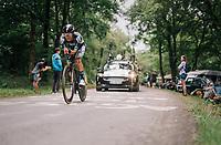 Rafał Majka (POL/BORA-hansgrohe)<br /> <br /> Stage 20 (ITT): Saint-Pée-sur-Nivelle >  Espelette (31km)<br /> <br /> 105th Tour de France 2018<br /> ©kramon