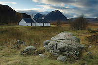 Buachaille Etive Mor and Blackrock Cottage, Glencoe, Highlands<br /> <br /> Copyright www.scottishhorizons.co.uk/Keith Fergus 2011 All Rights Reserved