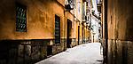 Alleyway in Palma de Mallorca, Spain