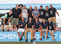 Bradenton, FL - Sunday, June 12, 2018: CONCACAF, Media during a U-17 Women's Championship Finals match between USA and Mexico at IMG Academy.  USA defeated Mexico 3-2 to win the championship.