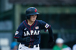 #19 Himeno Mayu of Japan runs after bating during the BFA Women's Baseball Asian Cup match between Pakistan and Japan at Sai Tso Wan Recreation Ground on September 4, 2017 in Hong Kong. Photo by Marcio Rodrigo Machado / Power Sport Images