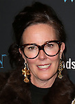 Kate Spade attends the Off-Broadway Opening Night Performance of 'The Woodsman' at The New World Stages on February 8, 2016 in New York City.