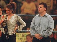 Stephanie H  Shane McMahon 2000                                           Photo by  John Barrett/PHOTOlink