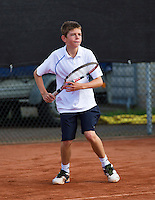 08-08-13, Netherlands, Rotterdam,  TV Victoria, Tennis, NJK 2013, National Junior Tennis Championships 2013, Lars Gillissen    <br /> <br /> <br /> Photo: Henk Koster