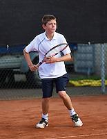 08-08-13, Netherlands, Rotterdam,  TV Victoria, Tennis, NJK 2013, National Junior Tennis Championships 2013, Lars Gillissen    <br /> <br /> <br /> Photo: Henk Koster